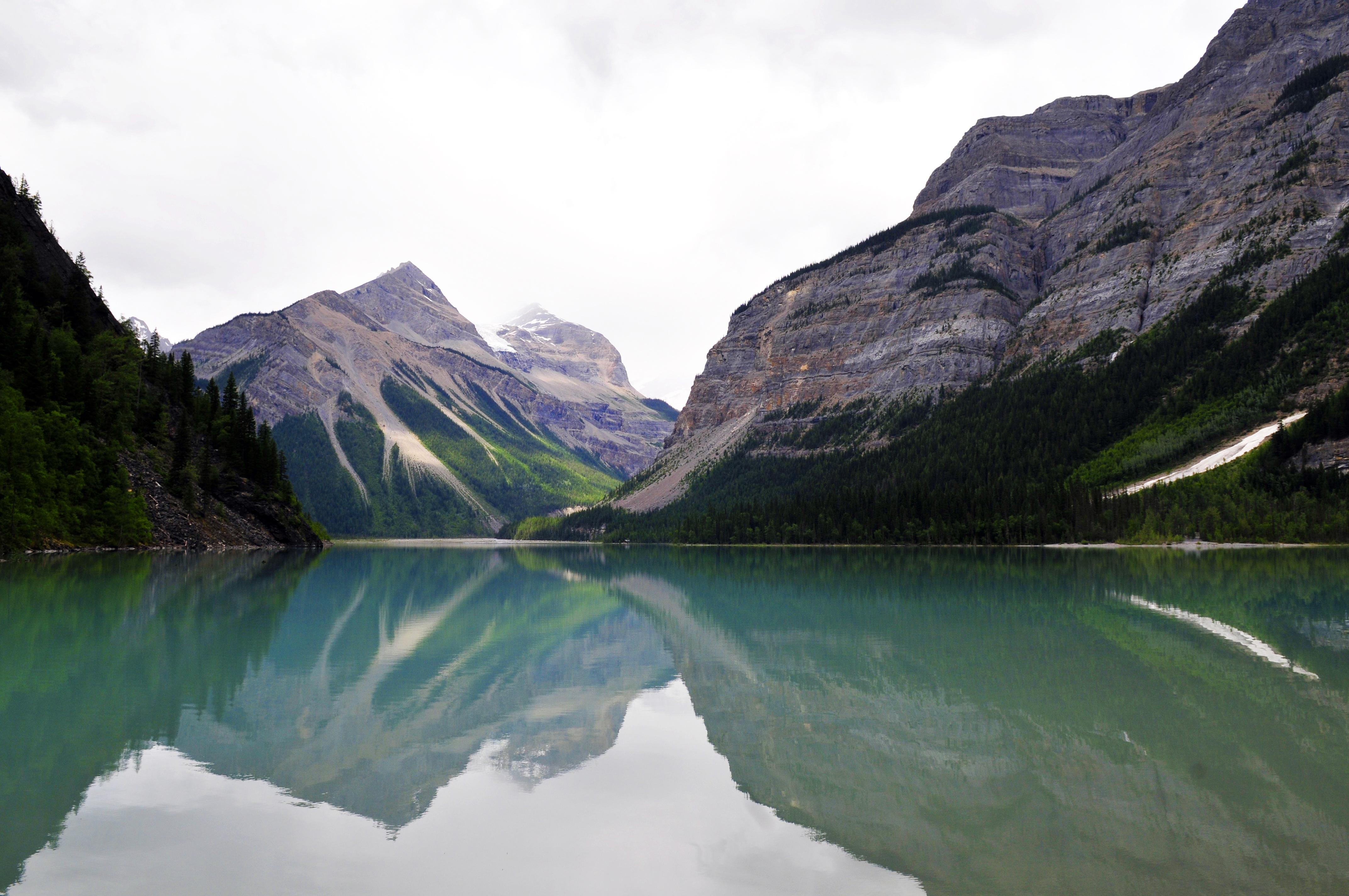 Sentier Berg Lake, BC